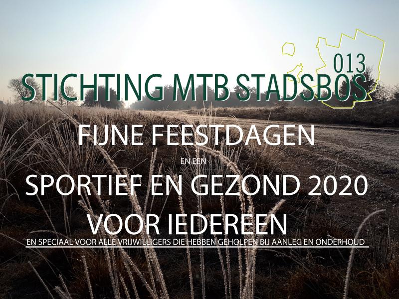 FIJNE FEESTDAGEN EN EEN SPORTIEF EN GEZOND 2020!